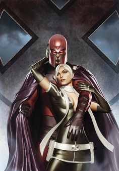 Magneto and Rogue