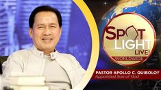 Watch another episode of Pastor Apollo C. Quiboloy's newest program, SPOTLIGHT. For your messages and queries, you can comment it down below so our Beloved P. Spiritual Enlightenment, Spirituality, Kingdom Of Heaven, T Lights, New Program, January 21, Son Of God, All Video, Apollo