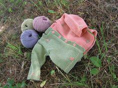 Ravelry: Running Stitch Cardie pattern by Hélène Rush