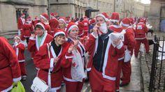 The OXCOM team took part in the Oxford Santa Run 2013! Oxford College, Marketing News, New Market, Santa, Running, Sports, Tops, Dresses, Fashion