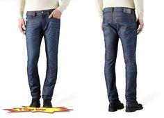 """DIESEL """"Thavar"""" Stretch Cotton Slim Skinny Dark Blue Jeans in 0842N NEW NWT  #DIESEL #SlimSkinny"""