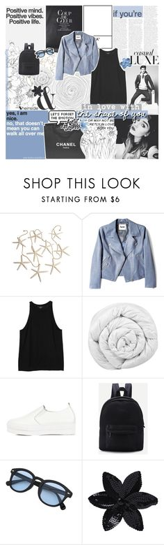 """YOUR LOVE WAS HANDMADE FOR SOMEBODY LIKE ME"" by feels-like-snow-in-september ❤ liked on Polyvore featuring PAM, MONICA ROSE, FRIDA, xO Design, Chanel, Acne Studios, Monki, Brinkhaus, WithChic and ASOS"