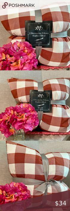 🆕MilliHome Decorative Pillows (2)-NWT
