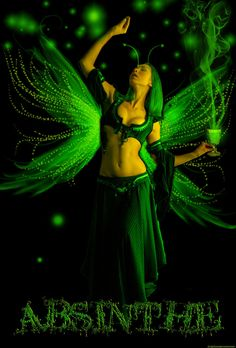 Absinthe Fairy by ~shygirlxoxo on deviantART