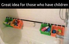 Bath clutter