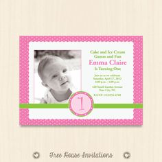 Prince 1st birthday invitation templates edits with word openoffice items similar to babys first birthday print ready invitation mini pink polka dots 7 x 5 or 6 x 4 inch digital file jpg id on etsy stopboris Gallery