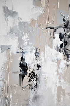 Original Abstract Painting Urban Art Grey Beige by AbstractArtM