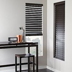 Faux Wood Blinds -- Curated by: EuroTek Blind Factory | 203 - 171 commercial drive, Kelowna, BC, v1x 7w2 | 250-765-0222 #customblinds #window #shades #curtain