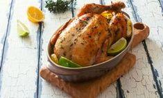 Poulet rôti miel et citron... La meilleure façon de cuire un poulet ENTIER à la mijoteuse!!!