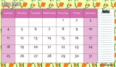 printables : Calendar on Pinterest | 2015 Calendar ...