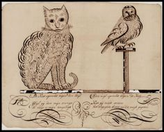 Cats in the 19th Century (Part 12-Cats in Literature-Edward Lear's Foss)