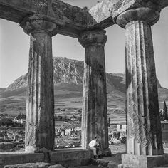 Αρχαία Κόρινθος 1961  φωτογραφία Robert McCabe