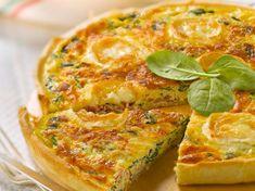 Découvrez la recette Quiche aux épinards, chèvre et jambon cru sur cuisineactuelle.fr.