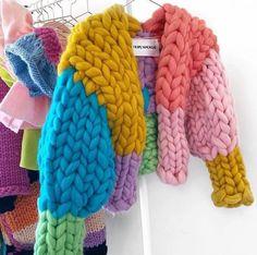 Kawaii Clothes, Diy Clothes, Free Crochet, Knit Crochet, Blanket Crochet, Crochet Stitches, Knitting Patterns, Crochet Patterns, Crochet Blocks
