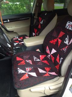 Custom Car Seat Covers By Harts Sewn Creations