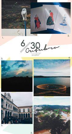 6 imagens // 30 dias: Outubro - nuages dans mon café