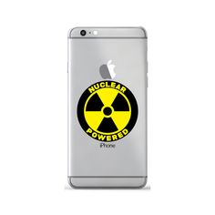 Nuclear Powered Decal Sticker Skin For by SkyhawkStickerDepot