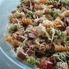 Rainbow Pasta Salad II Recipe on Yummly