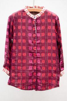 Ace & Jig Oxblood Blouson Shirt