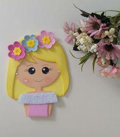 Foam Crafts, Diy And Crafts, Cartoon Kids, Paper Piecing, Princess Peach, Dolls, Painting, Color Crafts, Baby Nursery Decor