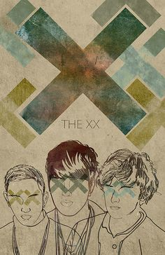 "[The XX] Indie pop band. Music featured on USA Network's ""Suits""."