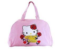 Oferta: 64.95€. Comprar Ofertas de Bolso de Hello Kitty para mujer–Bolsa Bowling Mode Original rosa SANRIO–40x 26x 12cm barato. ¡Mira las ofertas!