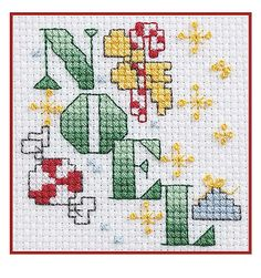 Celebrate the holidays with miniature stitchery designs that are quick to make for decorations and gifts. The fun collection in 50 Cross Stitch Quickies for Christmas from Leisure Arts presents a big variety of themes, from Santas and snowmen to angels an Cross Stitch Christmas Stockings, Xmas Cross Stitch, Cross Stitch Needles, Cross Stitch Cards, Simple Cross Stitch, Christmas Cross, Counted Cross Stitch Patterns, Cross Stitch Designs, Cross Stitching