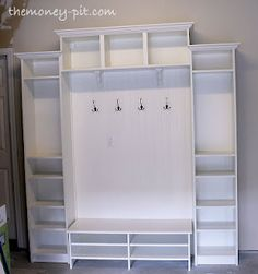 DIY Ikea mudroom!