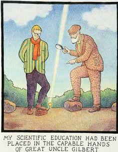 Glen Baxter artist Wimpole cartoon - Google Search