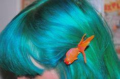 goldfish hairclip