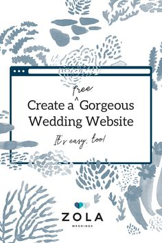Set the tone for your big day with one of our free website designs. Then personalize your favorite one with photos, stories, and all of your wedding details. Wedding Tips, Wedding Details, Diy Wedding, Dream Wedding, Summer Wedding, Wedding Wishes, Wedding Bells, Bouquet, Thats The Way