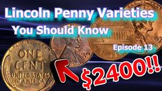 In the Lincoln Penny Varieties, You Should Know we take a look at the 1961 d over horizontal D, the 1955 S over S over S triple punched mint mark as wel. Rare Coins Worth Money, Valuable Coins, Show Me The Money, How To Make Money, Old Coins Value, Rare Pennies, Cut Recipe, Native American Symbols, Coin Worth