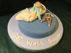 Sergio's get well soon cake.