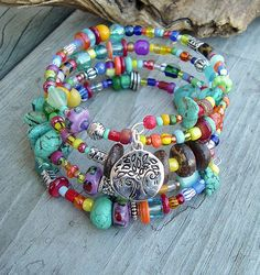Boho Bracelet, Sundance Style, Southwest Jewelry, Bohemian Jewelry via Etsy