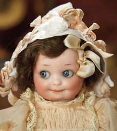 The Memory of All That - Marquis Antique Doll Auction: 41 German Bisque Googly, 253, by Marseille