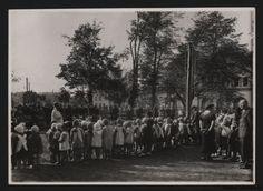 Park Bronowice- Otwarcie ogródka dziecięcego 1935 r. Park, Photos, Historia, Parks