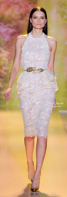 WHITE DRESS FROM: Zuhair Murad Spring 2014 Haute Couture