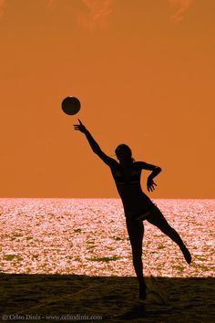 Beach Volleyball I'm gonna take a pic like this:)