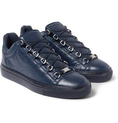 Balenciaga Arena Creased Leather Navy. Available now.  http://ift.tt/1JM2VEv