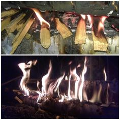 Finnish gap fire. Great for radiating lots of heat and keeping the fire out of snow/water. Just make sure to secure the top log so that it doesn't roll off as the fire burns.