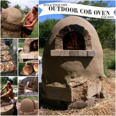 Build Your Own Cob Oven for the best food party.
