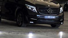 Mercedes-Benz V-class Black Crystal Black Crystals, Mercedes Benz, Vehicles, Car, Automobile, Cars, Vehicle, Tools