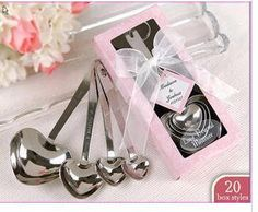 free shipping 50 sets/lot  Ice Cream Scoop Cookies Dough Disher Food Spoon,coffee spoon Cordate spoon-in Spoons from Home & Garden on Aliexpress.com