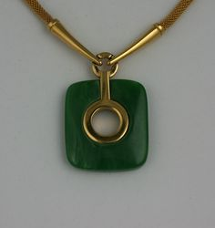 trifari jewelry | Trifari Bakelite Pendant Necklace For Sale at 1stdibs
