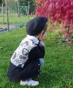 Veste Jersey Babouin de Tissus.net à partir du modèle On Another Star d'Ottobre