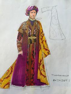 Tamerlano (Bajazet). Washington National Opera, Los Angeles Opera. Costume design by David Zinn.