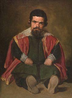 Diego Velázquez (Spanish [Baroque, Portrait] Don Sebastian de Morra, Prado Museum, Madrid. Spanish Painters, Spanish Art, Classic Art, Art Painting, Art Painting Oil, Western Art, Portrait Painting, Oil Painting Reproductions, Art History