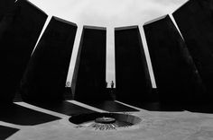 The Armenian Genocide Monument in Yerevan. Photo by Patrick Allard.