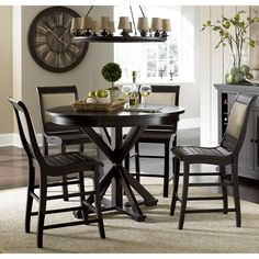 Progressive Furniture Willow Round Counter Height Dining Table - Kitchen & Dining Room Tables at Hayneedle