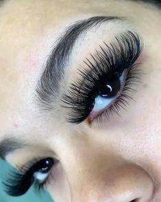 Perfect Eyelashes, Best Lashes, Whispy Lashes, Birthday Makeup Looks, Eyelash Studio, Eyebrow Grooming, Eyelash Extensions Styles, Eyelash Sets, Individual Lashes